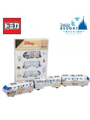 Tomica Tokyo Disney Resort Limited Diecast Model Car - Disney Vehicle Collection x Duffy & Friends Set of 3