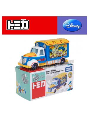 Tomica Disney Motors系列合金車 - Goodday Carry Donald Duck Asia Special