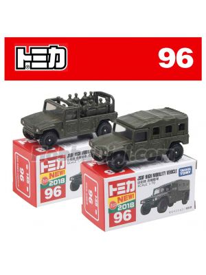 [2018新車貼] Tomica 合金車 No96 - JSDF High Mobility Vehicle 一套兩架