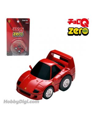 Tomica ChoroQ Zero Pull Back Diecast Model Car - Z-66a Ferrari F40 (Red)