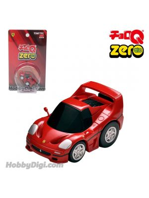Tomica ChoroQ Zero Pull Back Diecast Model Car - Z-67a Ferrari F50 (Red) Closed