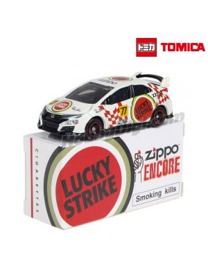 Tomica Second Creation Diecast Model Car - Honda Civic Type R Lucky Strike