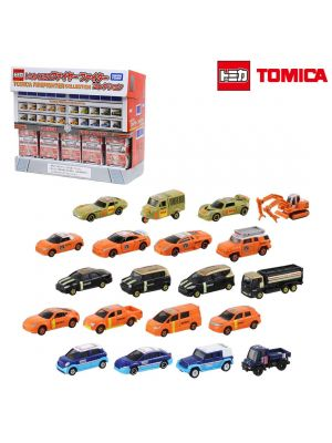 Tomica 抽獎合金車 22代 - Fire Fighter Collection 全套20架