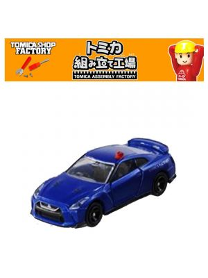 Tomica Assembly Factory Exclusive Diecast 1st - GT-R Patrol Car Blue X Black