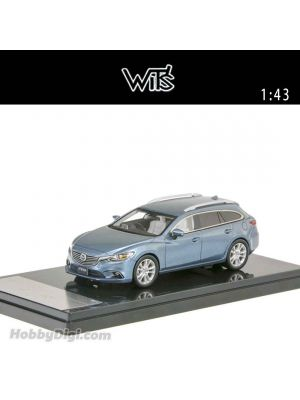 WIT'S 1:43 合金車 Atenza Wagon 25S L Package (Metallic Blue)