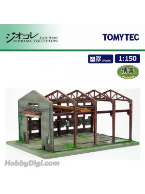 TOMYTEC Diorama Collection 1:150 Scenery Collection - 156 Abandoned Factory