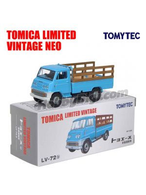 TOMYTEC Tomica Limited Vintage NEO Diecast Model Car - LV-72b Toyota ToyoAce Live stock Transport Vehicle
